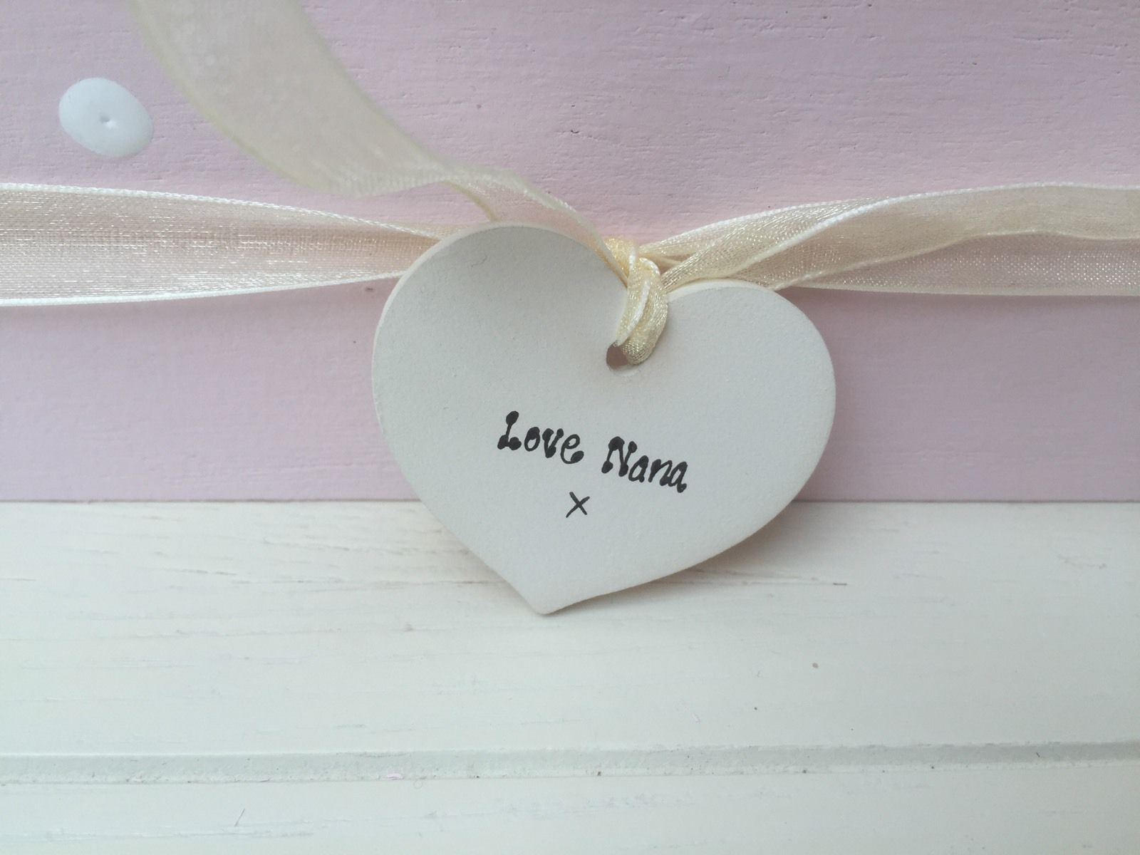 Shabby Personalised Chic Jewellery Box Gift Special Best